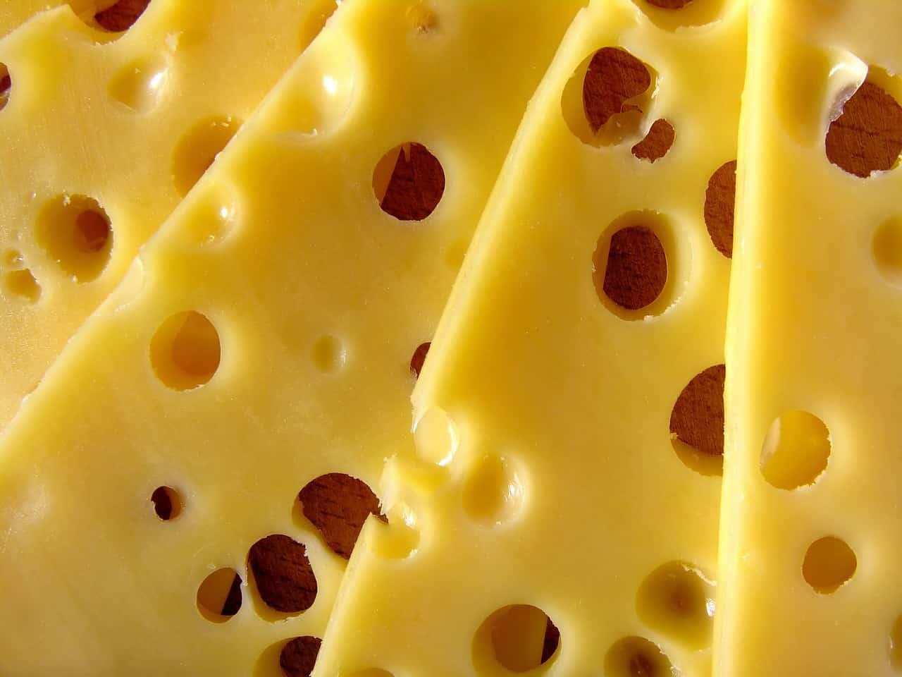 רצועות של גבינה